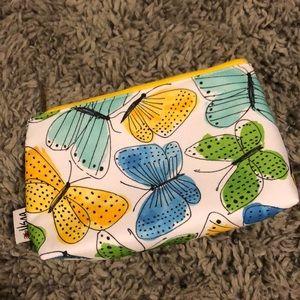 Clinique butterfly makeup bag